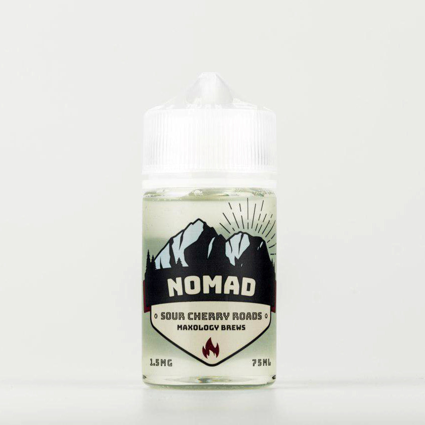 Жидкость NOMAD Sour Cherry Roads 1.5 мг 75 мл