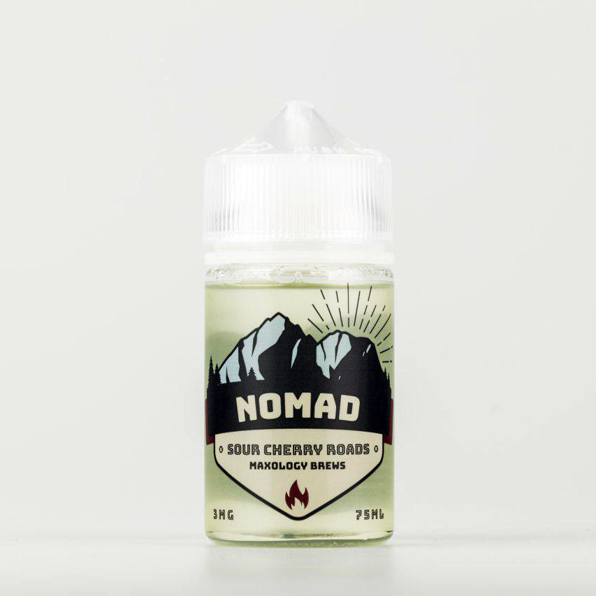 Жидкость NOMAD Sour Cherry Roads 3 мг 75 мл