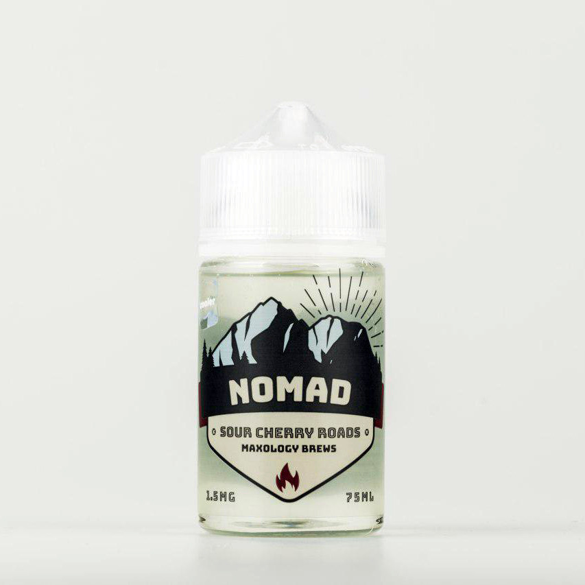 Жидкость NOMAD Sour Cherry Roads Cooler 1.5 мг 75 мл