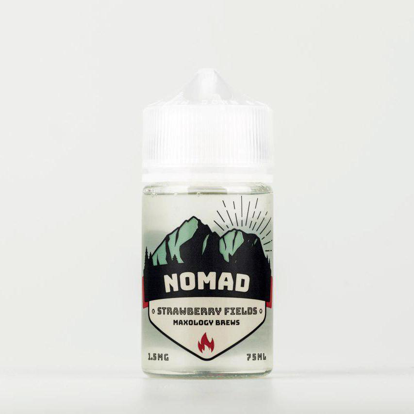 Жидкость NOMAD Strawberry Fields 1.5 мг 75 мл