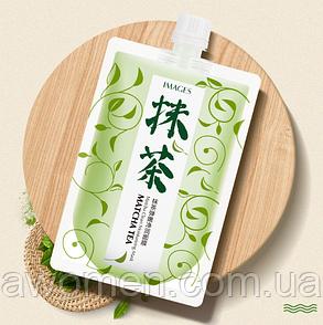 Увлажняющая маска Images Matcha Tea с экстрактом японского зеленого чая маття 170 g