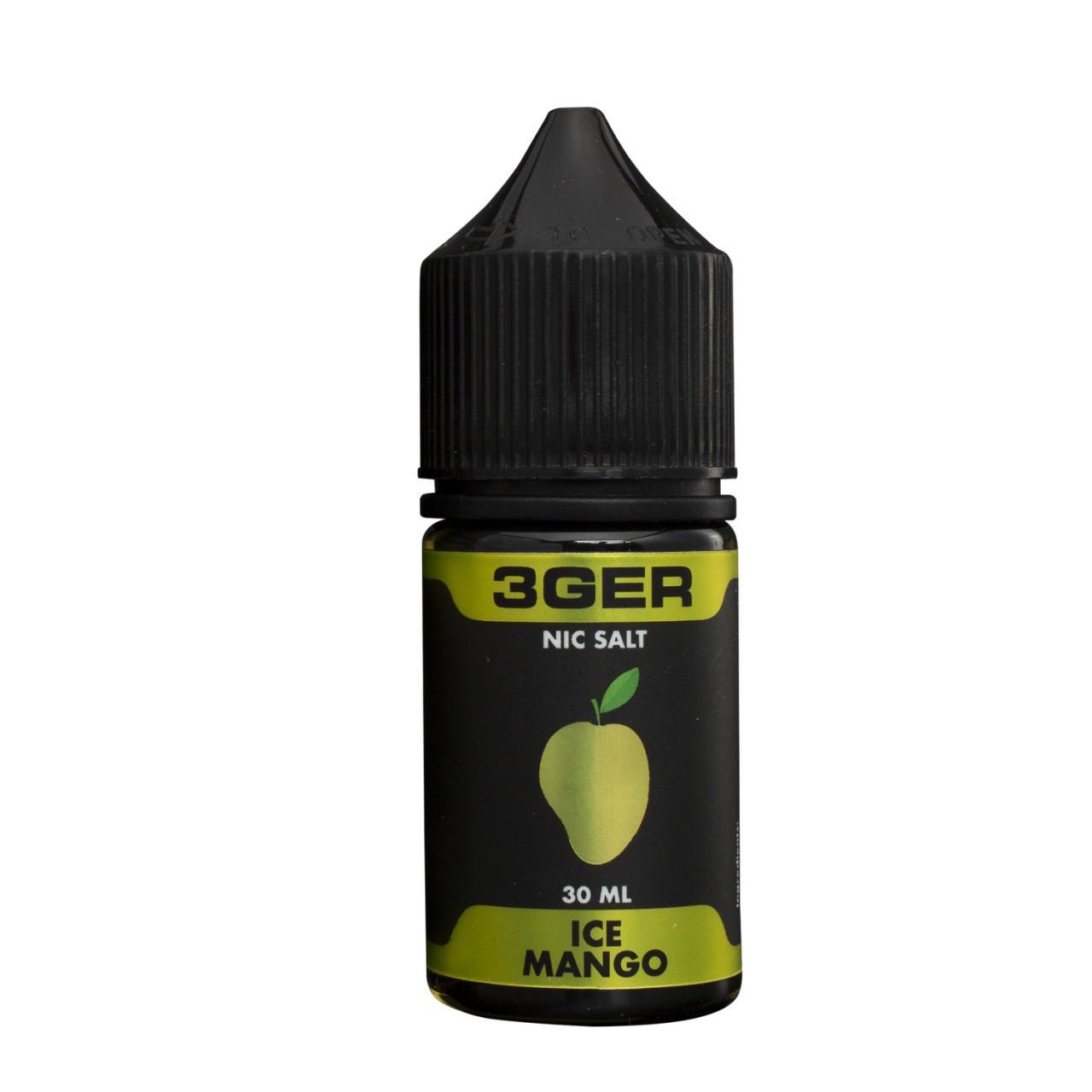 Жидкость 3Ger Salt Ice Mango 50 мг 30 мл