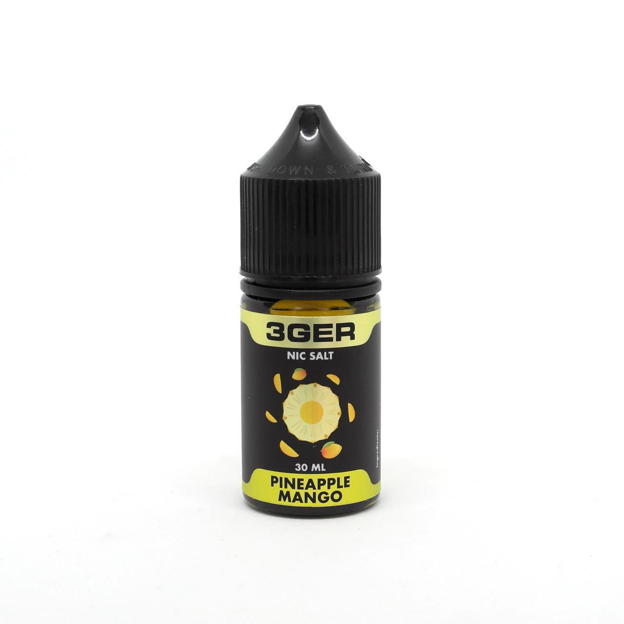 Жидкость 3Ger Salt Pineapple Mango 25 мг 30 мл