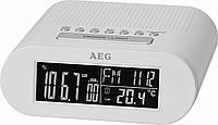Радиочасы AEG MRC 4145 белый