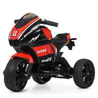 Мотоцикл Bambi M 4135L-3 Красный
