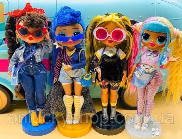 Большая кукла ЛОЛ серия ОМГ Игровой набор с куклой НЕОН L ...
