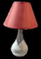 Настольная лампа-торшер дизайнерская LUMANO ELISIO 60W E27 IP20 розовая