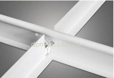 Пластиковый профиль Т-24, длина 0,6 м. Т-24, профиль ПВХ 0,6 м.