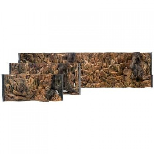 Фон скала стандарт для аквариума ATG line, 100x50 см
