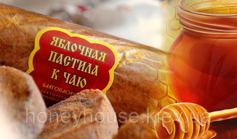 """Пастила яблочная натуральная """"К ЧАЮ"""" 70г. (батончик)"""