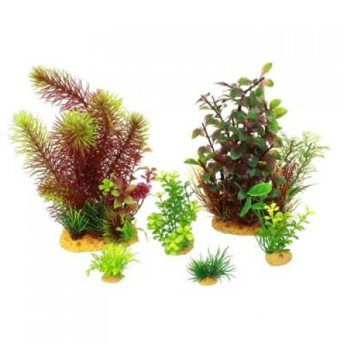 Искусственное растение Yusee - набор MAXI 6шт.