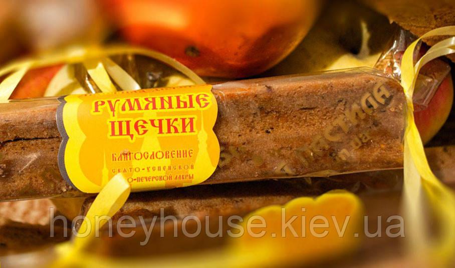 Пастила яблочная натуральная Румяные щечки, детская  65г. (батончик)