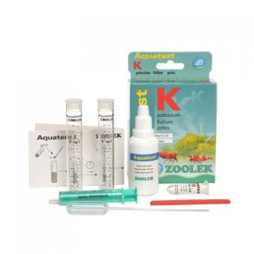 Тест на содержания калия Zoolek Aquatest K
