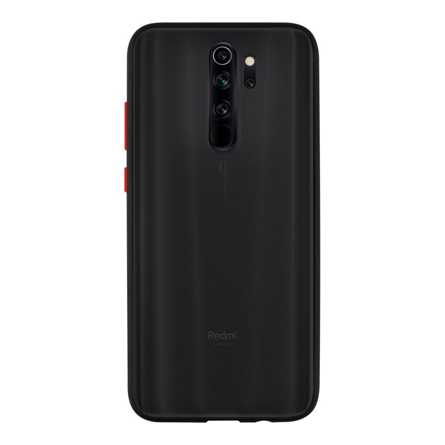 Чехол накладка Goospery Case для Xiaomi Redmi Note 8  Pro Black/Red