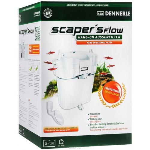 Внешний фильтр Dennerle Scaper's Flow для аквариумов от 30 до 120 л, с наполнителями и аксессуарами