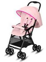 Cybex. Прогулочная коляска Yoki Neon Light Pink light pink (дождевик+бампер) арт.519002761