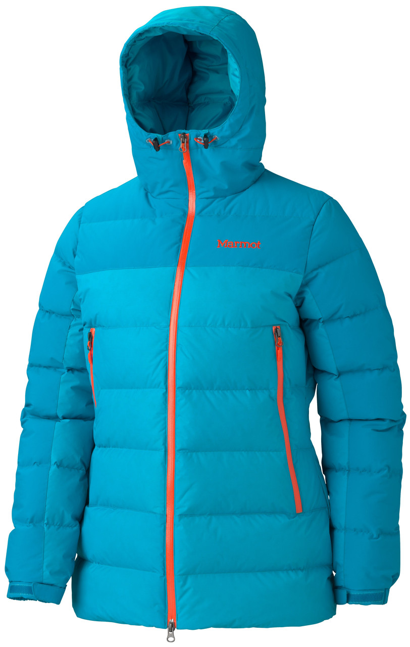 Пуховик женский Marmot Mountain Down Jacket Old