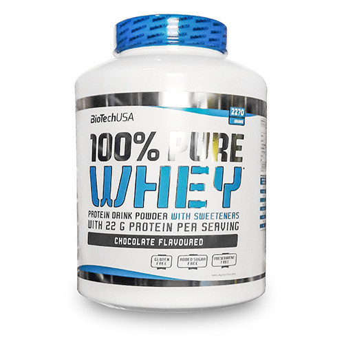 Протеин сывороточный Biotech 100% Pure Whey 2270 г