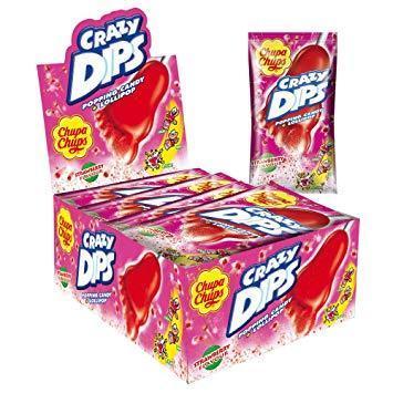 Chupa Chups Crazy Dips Strawberry Блок