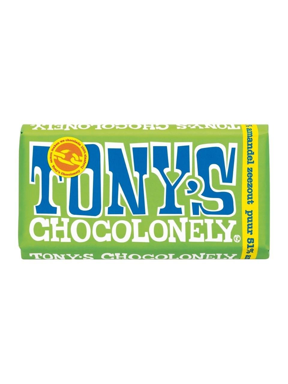 Tony's Chocolonely Mandel Seasalt 180 g