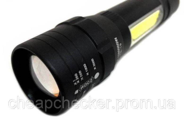 Карманный Фонарик Bailong BL 19 T6 USB Micro Charge