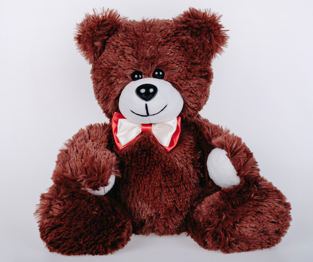 Плюшевий ведмедик Yarokuz Рональд 35 см Шоколадний