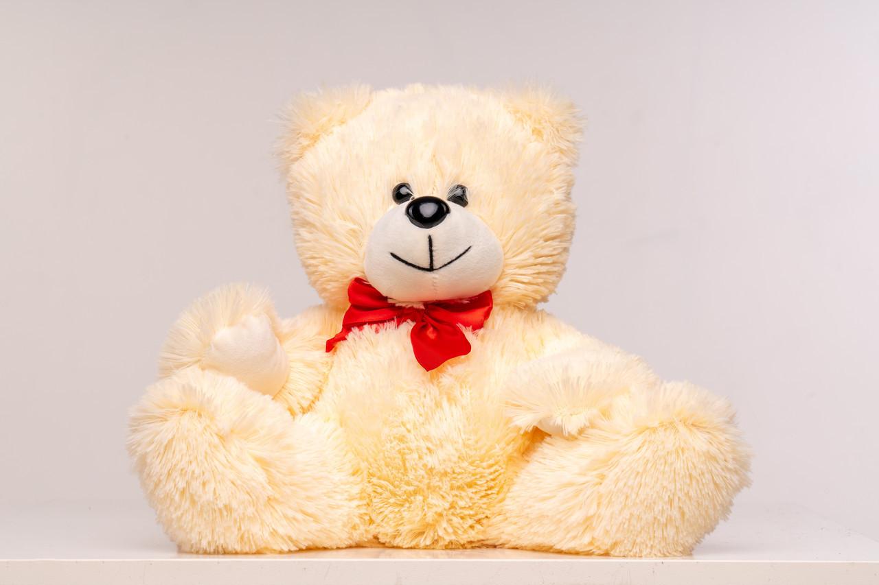 Плюшевий ведмедик Yarokuz Рональд 35 см Персиковий