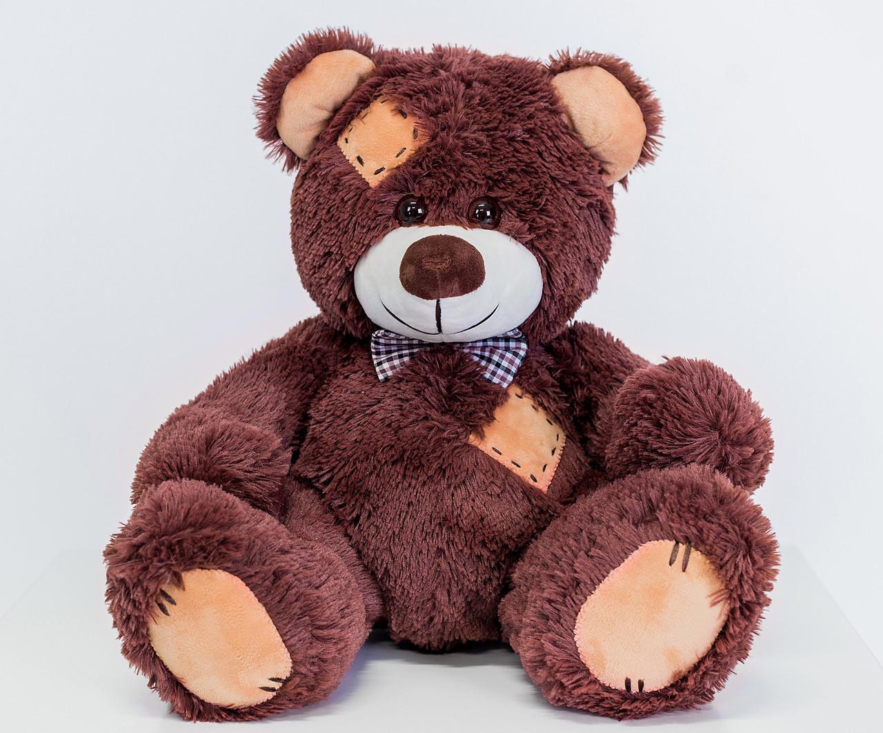Ведмедик плюшевий Yarokuz Теодор 65 см Шоколадний