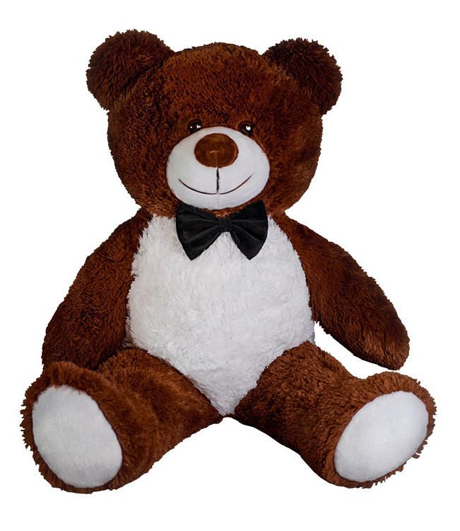 Плюшевий ведмідь Yarokuz Джиммі 90 см Шоколадний