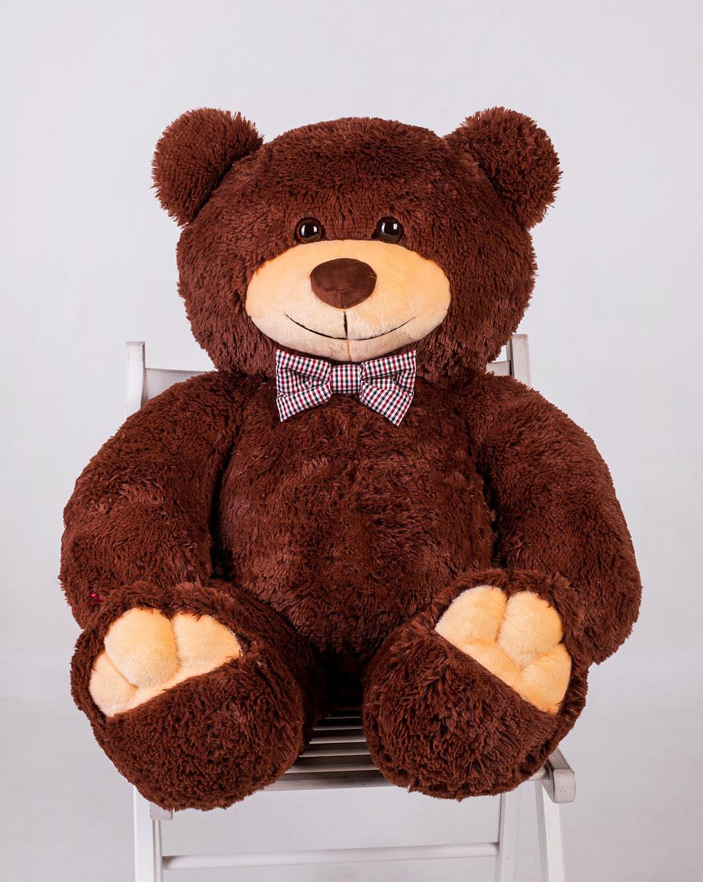 Ведмедик плюшевий Yarokuz Джон 110 см Шоколадний