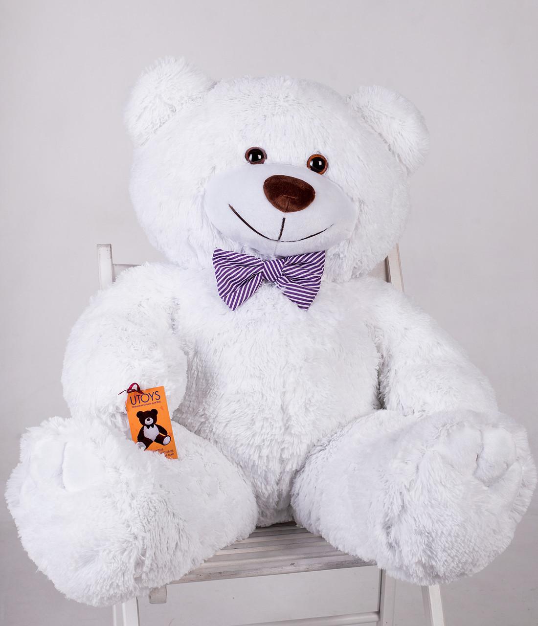 Ведмедик плюшевий Yarokuz Джон 110 см Білий
