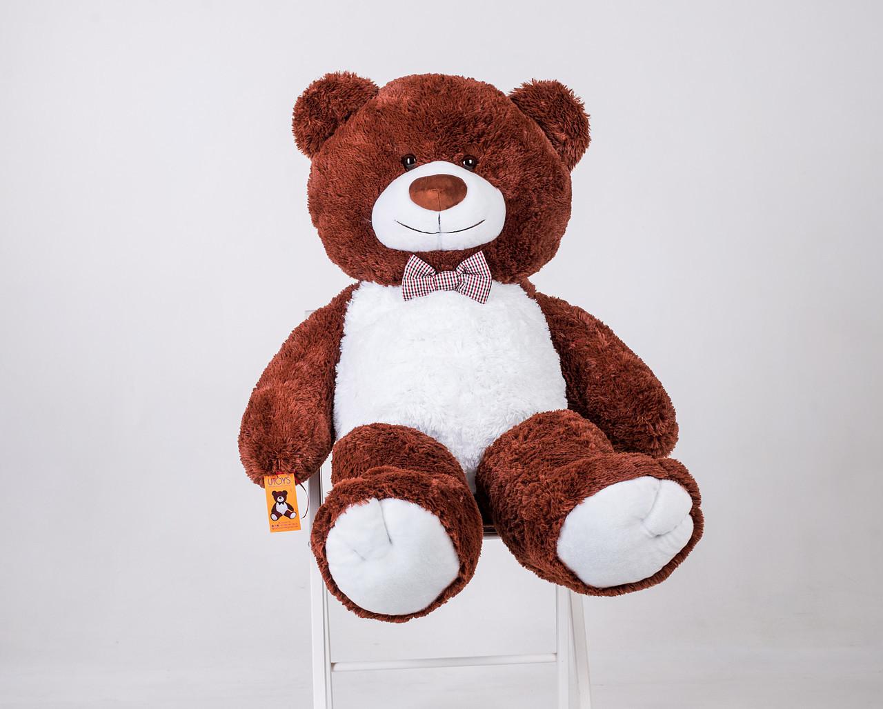 Плюшевий ведмедик Yarokuz Бенжамін 135 см Шоколадний