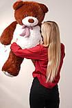 Плюшевий ведмедик Yarokuz Бенжамін 135 см Шоколадний, фото 4