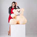 Большая мягкая игрушка мишка Yarokuz Билли 150 см Персиковый, фото 5
