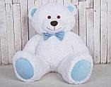 Большая мягкая игрушка мишка Yarokuz Билли 150 см Белый, фото 2