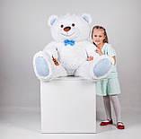 Большая мягкая игрушка мишка Yarokuz Билли 150 см Белый, фото 3