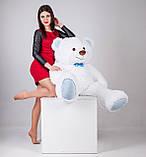 Большая мягкая игрушка мишка Yarokuz Билли 150 см Белый, фото 7