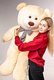 Великий плюшевий ведмідь Yarokuz Джеральд 165 см Персиковий, фото 6
