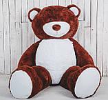 Великий плюшевий ведмедик Yarokuz Річард 200 см Шоколадний, фото 3