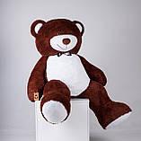 Великий плюшевий ведмедик Yarokuz Річард 200 см Шоколадний, фото 4