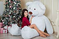 Огромный мягкий мишка Yarokuz Уильям 250 см Белый, фото 1