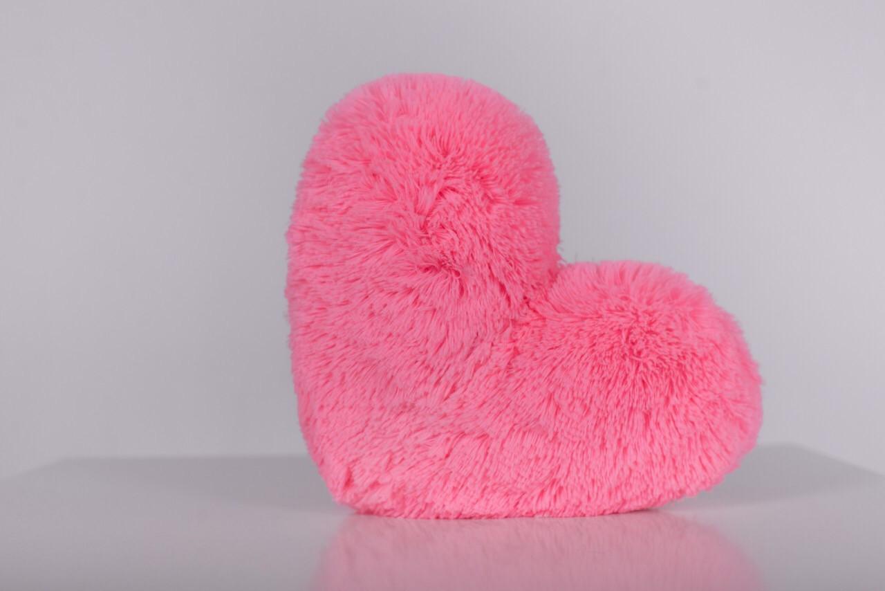 """М'яка іграшка Yarokuz подушка """"Серце"""" 30 см Рожева"""