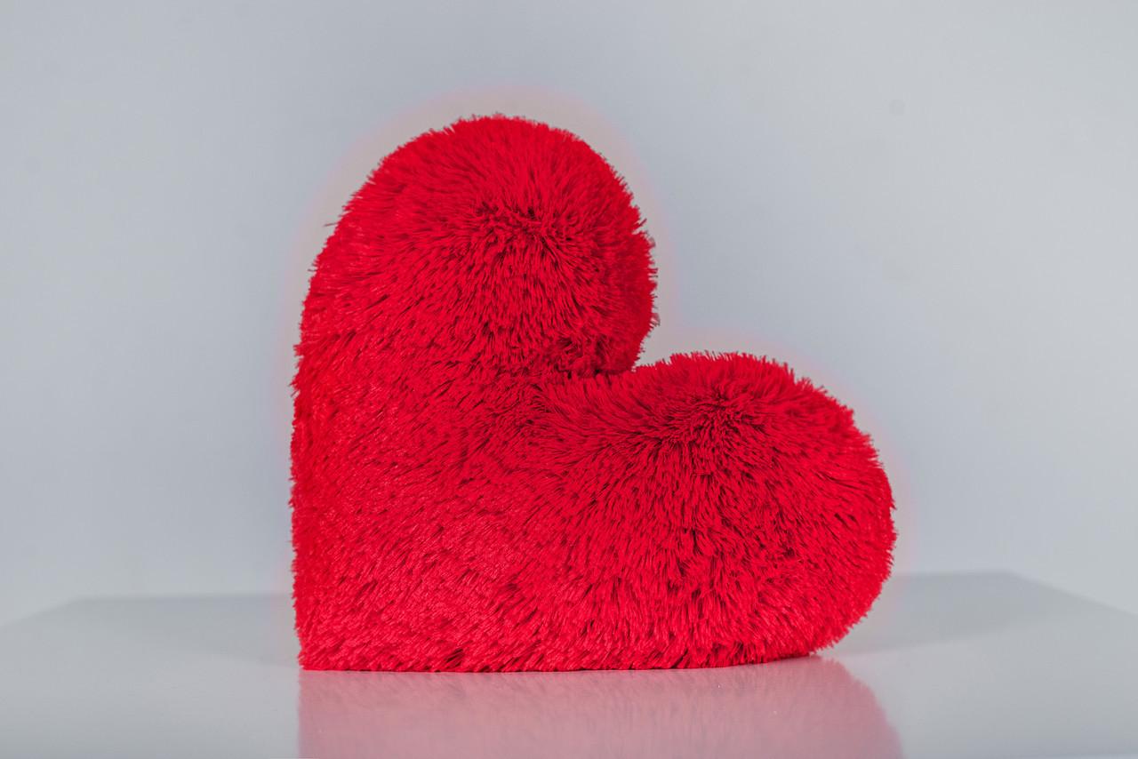 """Мягкая игрушка Yarokuz подушка """"Сердце"""" 30 см Красная"""
