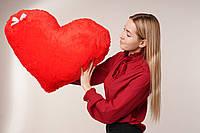 """Мягкая игрушка Yarokuz подушка """"Сердце"""" 75 см Красная, фото 1"""