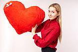 """Мягкая игрушка Yarokuz подушка """"Сердце"""" 75 см Красная, фото 5"""