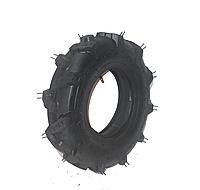 Шина на мотоблок 4.00-8 с насечкой,четырехслойная (4PR) + камера(максимальная нагрузка 168 кг)