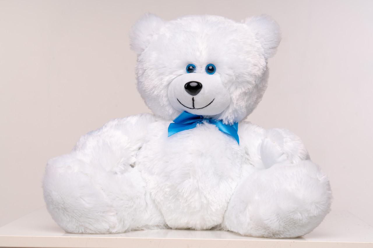 Плюшевый мишка Yarokuz Мартин 50 см Белый