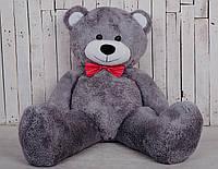 Большая мягкая игрушка мишка Yarokuz Билли 150 см Серый, фото 1