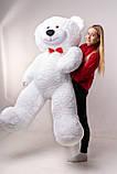 Большой плюшевый мишка Yarokuz Ричард 200 см Белый, фото 4