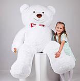 Великий плюшевий ведмедик Yarokuz Річард 200 см Білий, фото 6